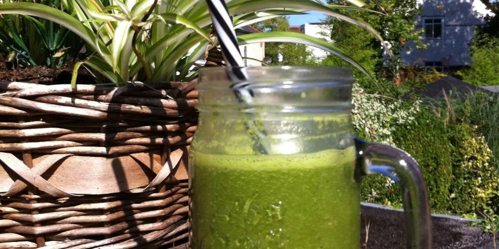 Zielony sok z nutką imbiru najlepszym panaceum na ból głowy i migrenę
